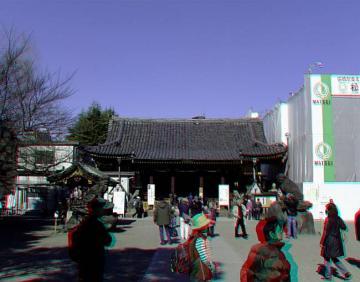 アナグリフ 浅草神社全景