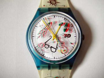 swatch 3D watch