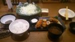 [2013-10-21]さぼてん牡蠣御膳