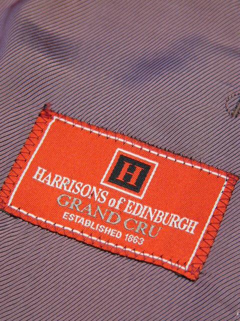 名古屋オーダースーツ Harrisons of Edinburgh ハリソンズ オブ エジンバラ