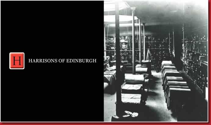 Harrisons of Edinburgh ハリソンズ オブ エジンバラ