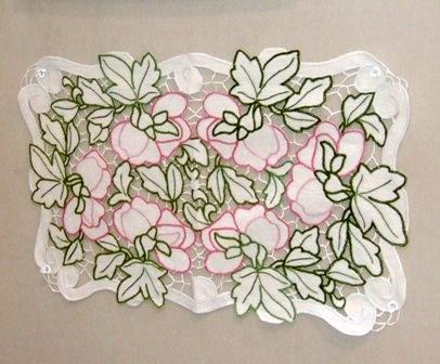 花のカットワーク