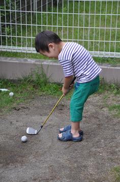 お庭ゴルフ2