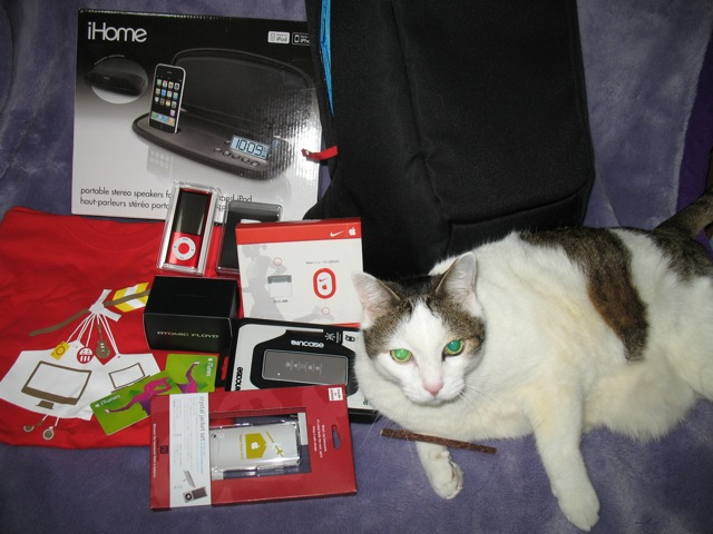 2010Lucky Bag contents