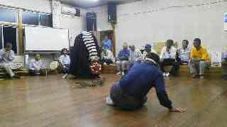 獅子舞練習