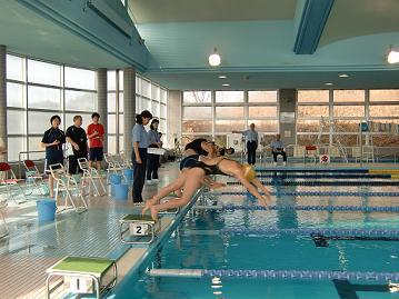 今年の水泳大会