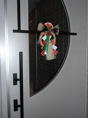 ドア正月飾り
