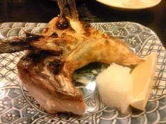 ぶりのカマ焼
