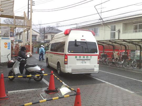 救急車&消防車