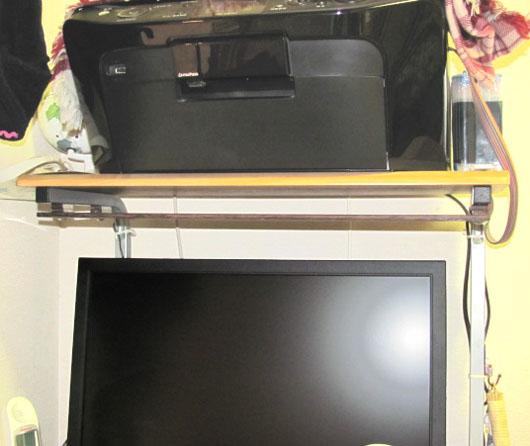 PCデスク棚