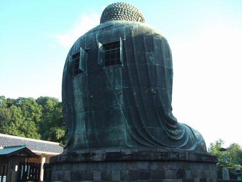 高徳院の阿弥陀如来像、通称「鎌倉大仏」