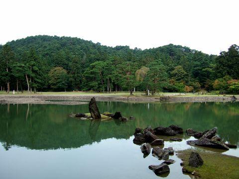 毛越寺庭園跡