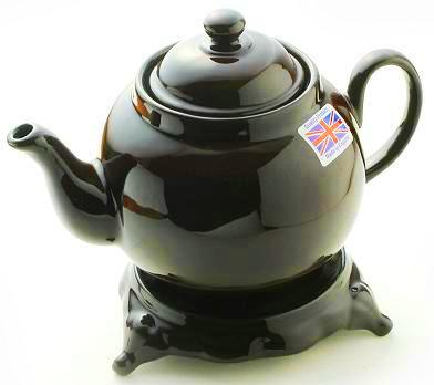 tea pot brown betty