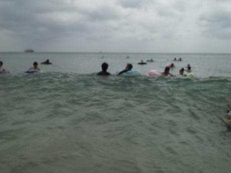 白浜海水浴