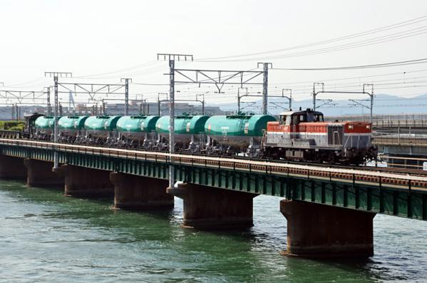 タキ1000甲種輸送(9774レ 2013年8月21日)
