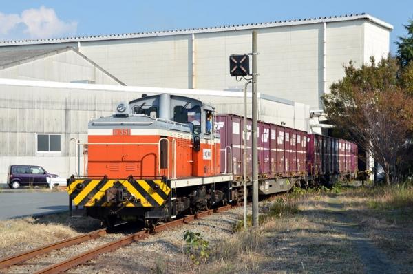 日本製紙富士工場専用線(20131108)