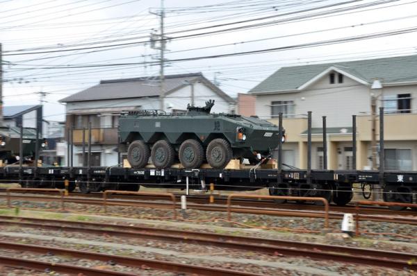 自衛隊機材輸送列車(20131125)