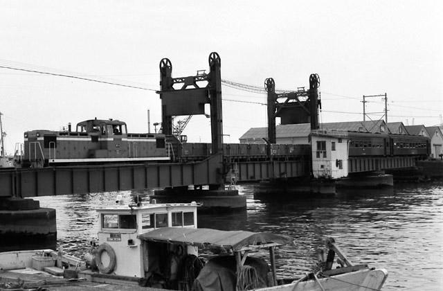 清水港線上り混合列車