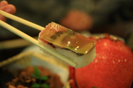 かつおの押し寿司