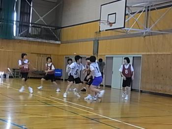 バスケ親子レク