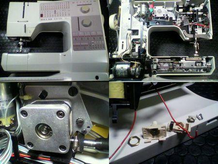 BERNINAミシン修理 RCM1230