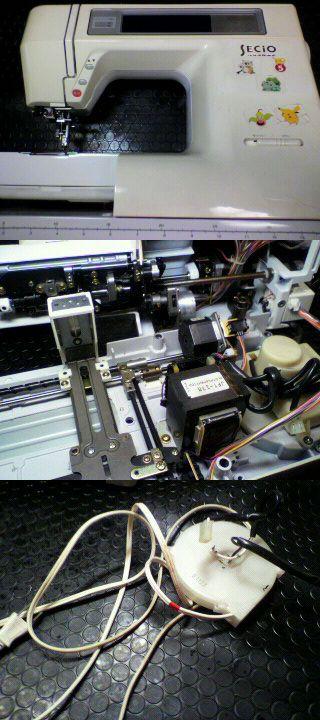 ジャノメミシン 修理 セシオ8210