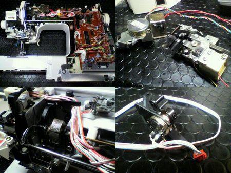 ブラザーミシン修理 Tendy special ZZ3-B892)