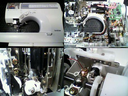 ブラザーミシン修理 innovis C52 CPS03)