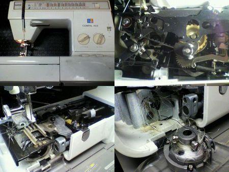 ブラザーミシン修理 COMPAL ACE ZZ3-B796