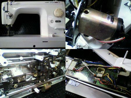 JUKI職業用ミシン修理 TL-96DX
