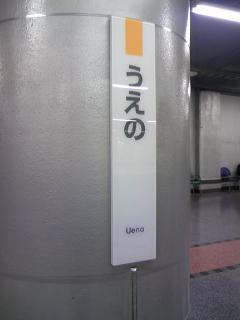 上野駅2077