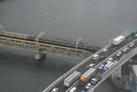 首都高と東武鉄道