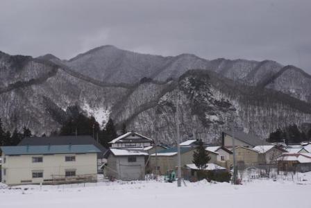 七ヶ岳登山口駅付近