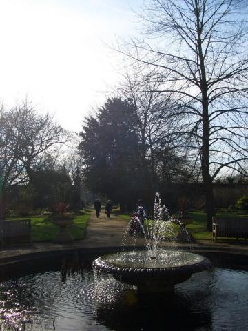 botanic fountain