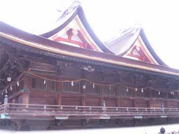 吉備津神社へ初詣