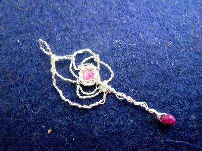 紅の紋章杖