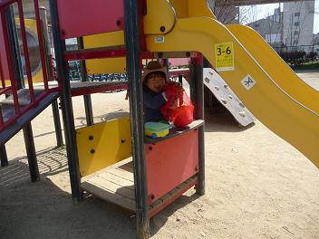 2011 03 31 きっぺい君と公園 tibi05
