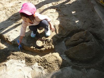 2011 10 27 つぼみ組と芋掘り tibi01