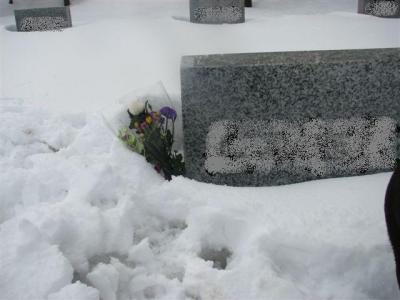 3月22日墓参り