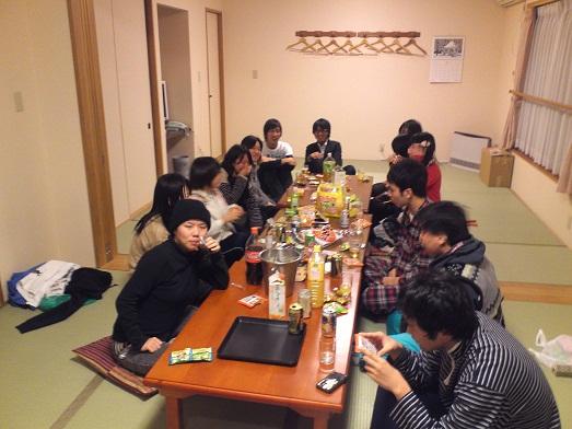 2013春合宿呑み1日目
