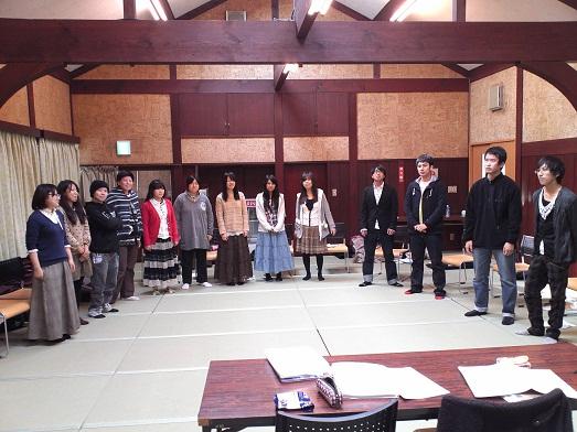 2013春合宿三日目練習風景