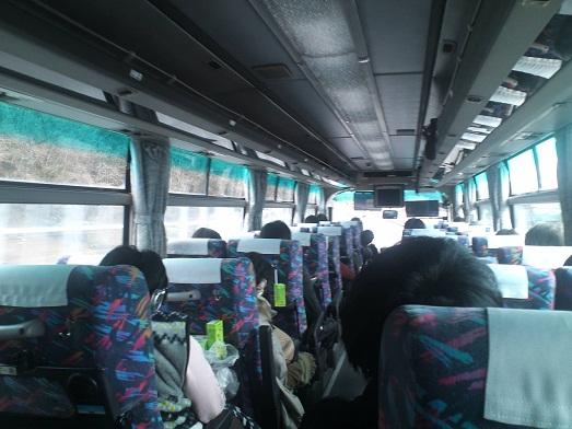 2013年春合宿三日目バス