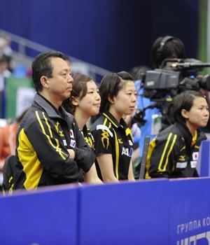 WTTC 2010 Комментарии тренера женской сборной Японии г-на Мураками Ясукадзу