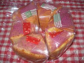 いちごミルクシフォン&桜のシフォン