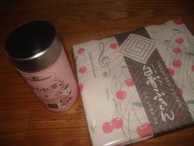 白雪ふきん&桜紅茶