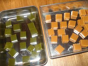 塩生キャラメル&抹茶生キャラメル