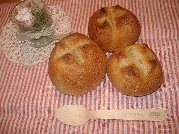 初!自家製酵母パン☆