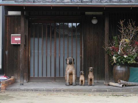 ⑩玄関犬0
