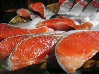 鮭の切り身小