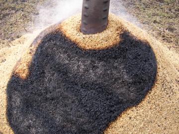 くん炭作り2